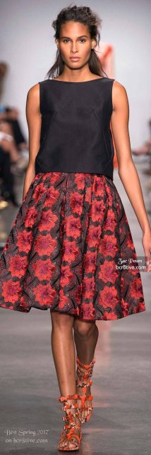 Zac Posen - The Best Looks from New York Fashion Week Spring 2017