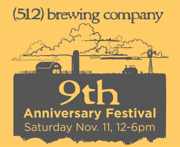 512 Brewery 9th Anniversary Festival