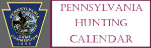 PA Hunting Calendar