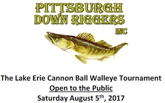 August 5th Lake Erie Walleye Tournament
