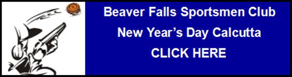Beaver Falls New Year's Day Calcutta