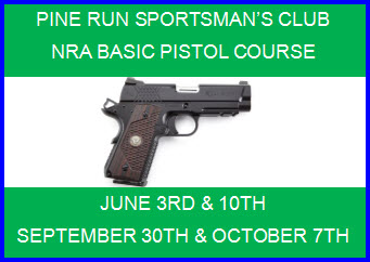 Pine Run NRA Pistol Course