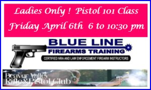 Ladies Only Pistol Class