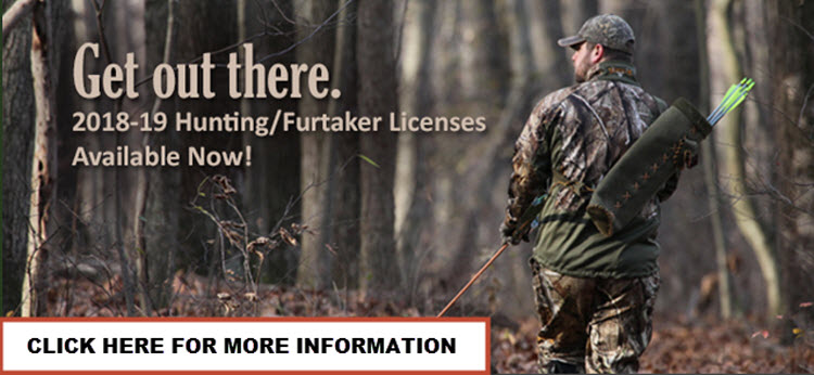 Hunting & Fur Taker Licenses