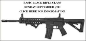 Rifle Class September 9th