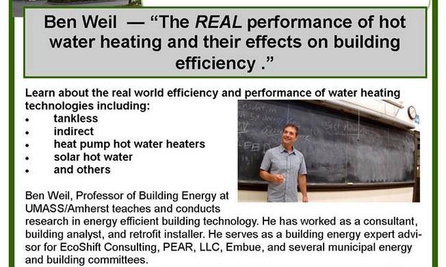 Ben Weil presents at Western Mass Green Consortium