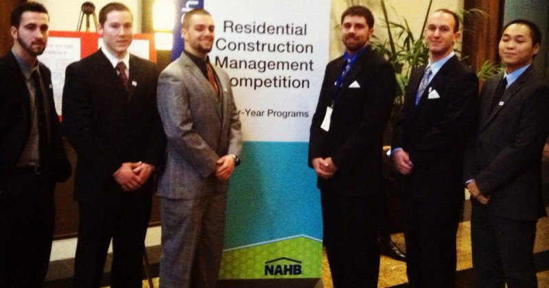 BCT Student Chapter Wins Award at International Builders' Show