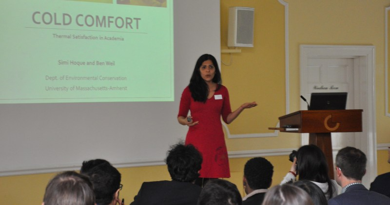 Simi Hoque Speaks at Windsor Conference in the UK