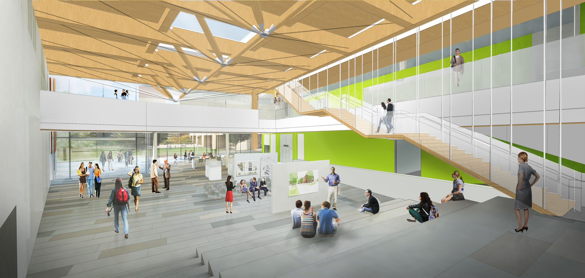 The John W Olver Design Building At Umass Amherst Building And Construction Technology