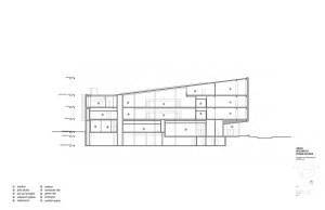 Design Building Section E-W