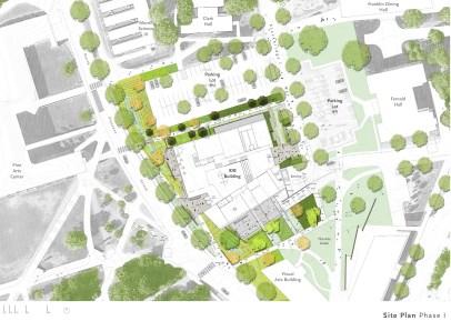 Landscape design (phase 1)