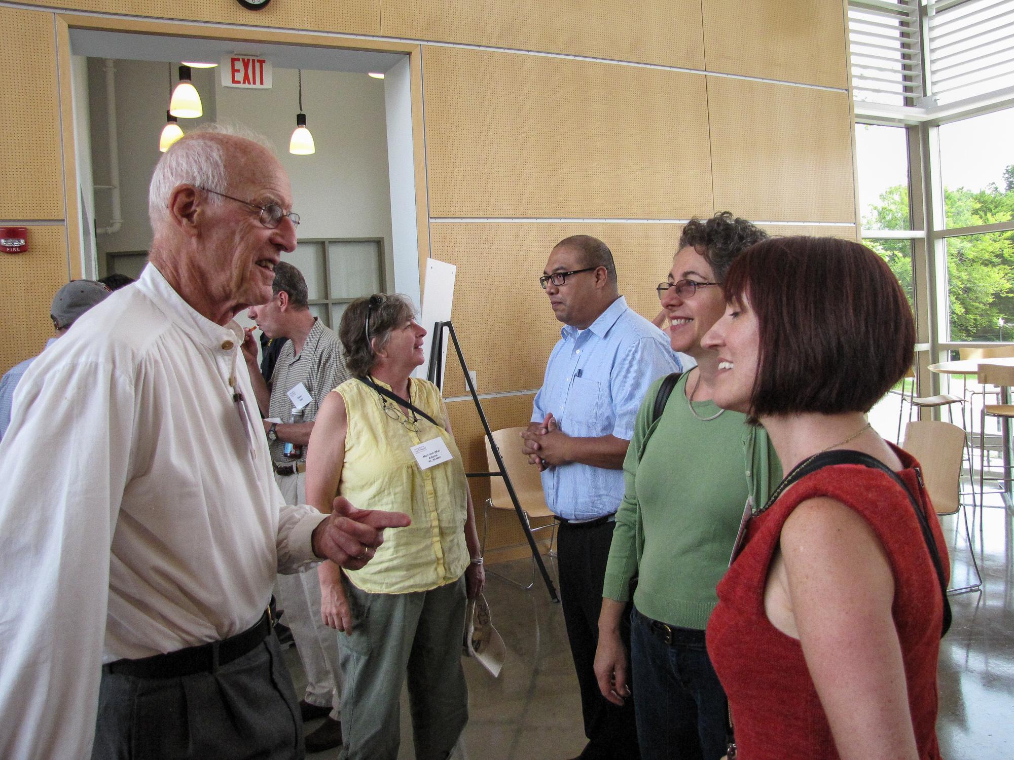 Former Congressman John Olver shared his ideas