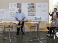 BCT alumnus Rommel gave a construction update