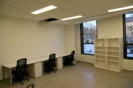 BCT grad student space