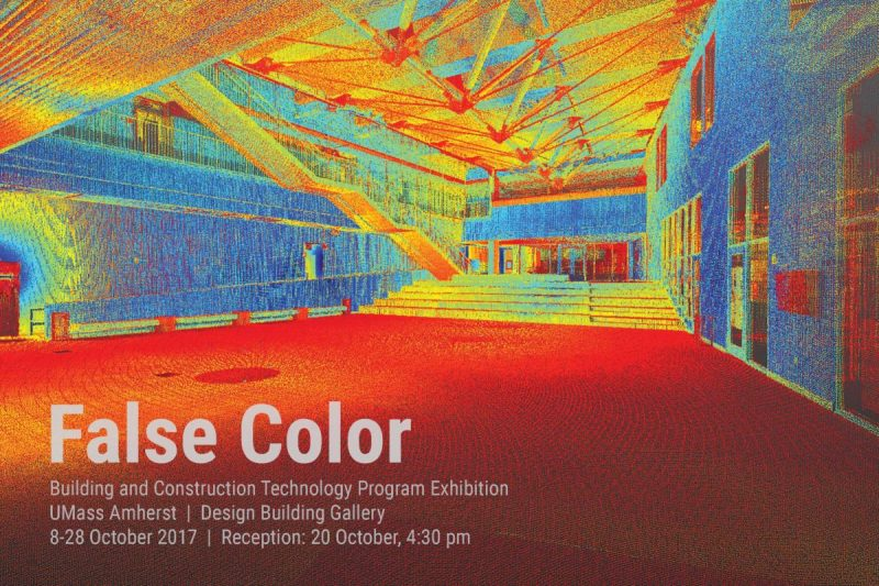 False color exhibit building and construction technology umass this exhibit was on display in the umass design building gallery from 1082017 to 10282017 reheart Gallery