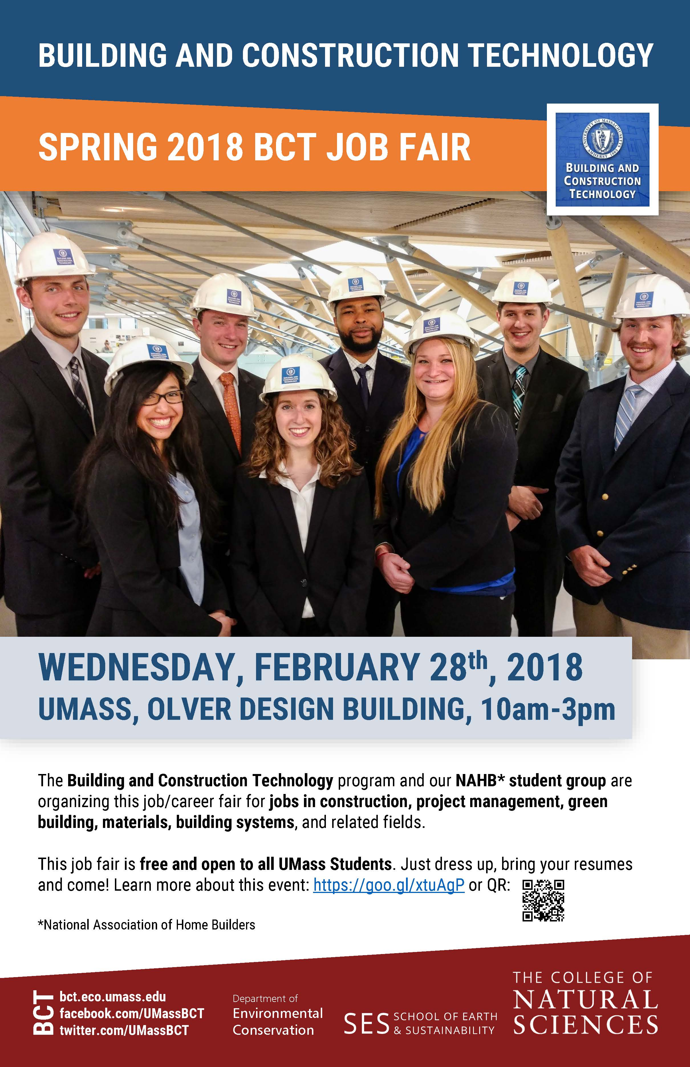 Bcts spring 2018 job fair is next week building and construction bcts spring 2018 job fair is next week building and construction technology umass amherst reheart Gallery