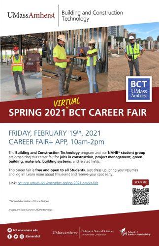 BCT Spring 2021 Career Fair @ Amherst | Massachusetts | United States