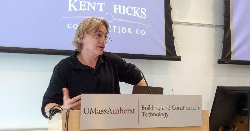 Kent Hicks presents on making Net Zero homes & energy retrofits affordable, healthy, and low in embodied carbon