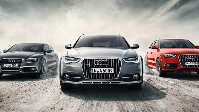 Audi Blockchain Shipment