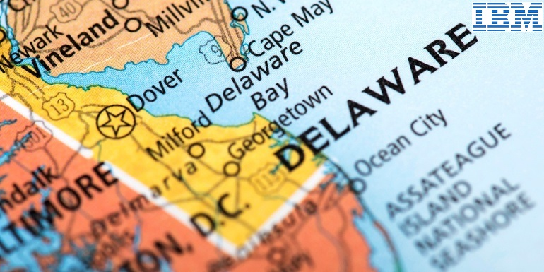 delaware signs ibm to build a blockchain filing system