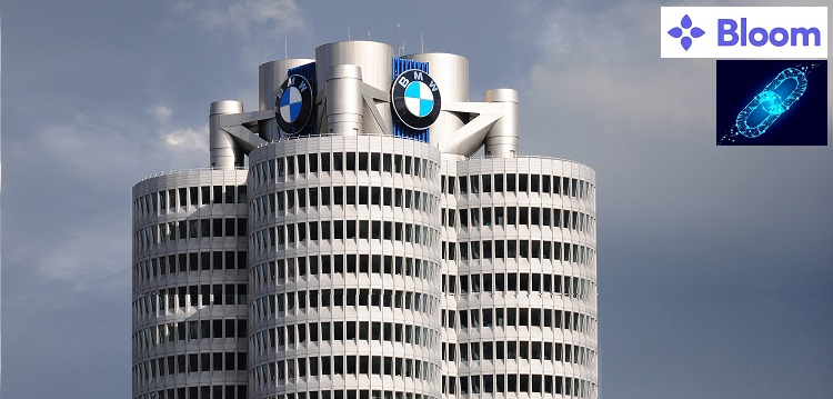 bmw selects blockchain startup bloom