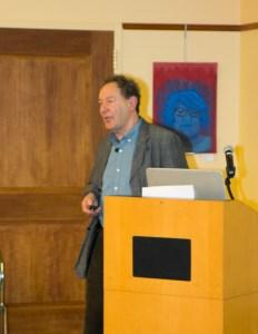 Climatologist, Peter Bunyard