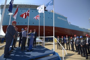 Launch of Maersk Connector (1) LR
