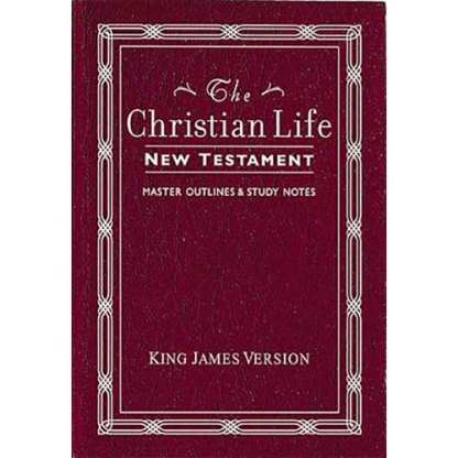 The Christian Life New Testament (Pocket size)