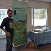Neil at the World Wetlands Day Celebration 2014