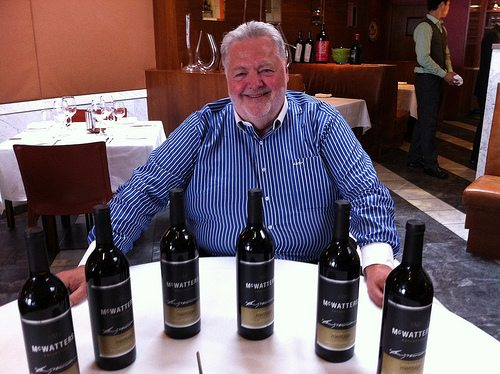 Harry McWatters finds a new place in BC's wine business