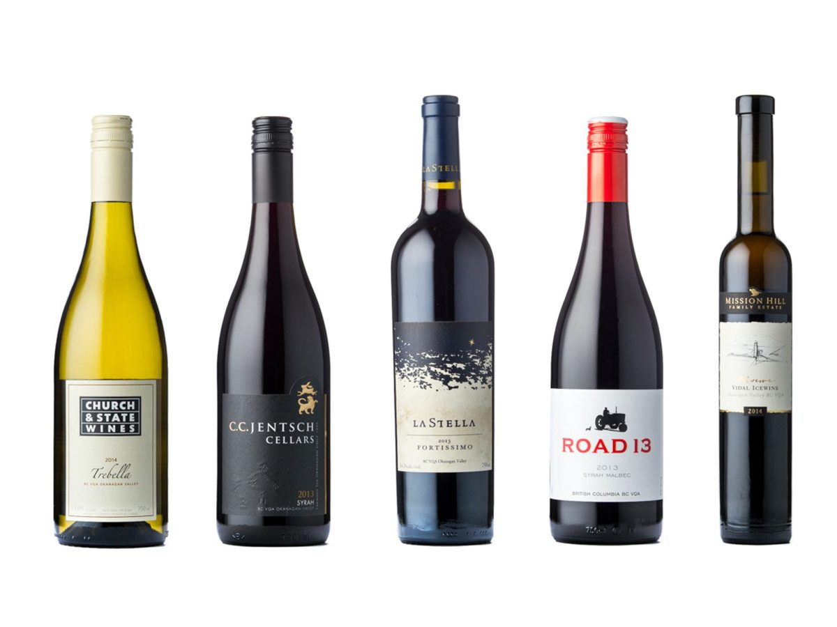 Congratulations to BC's Platinum Wine Align Award Winners!