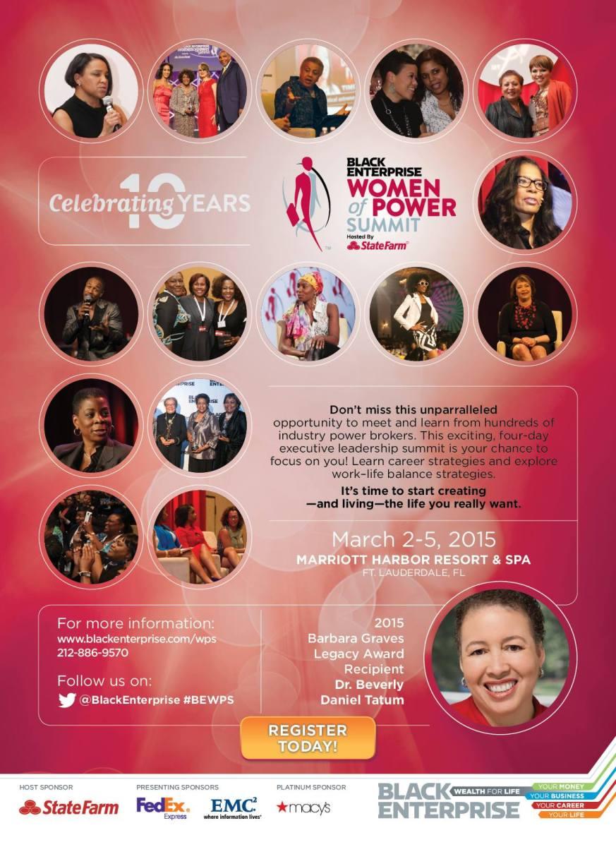 Black Enterprise Women of Power Summit