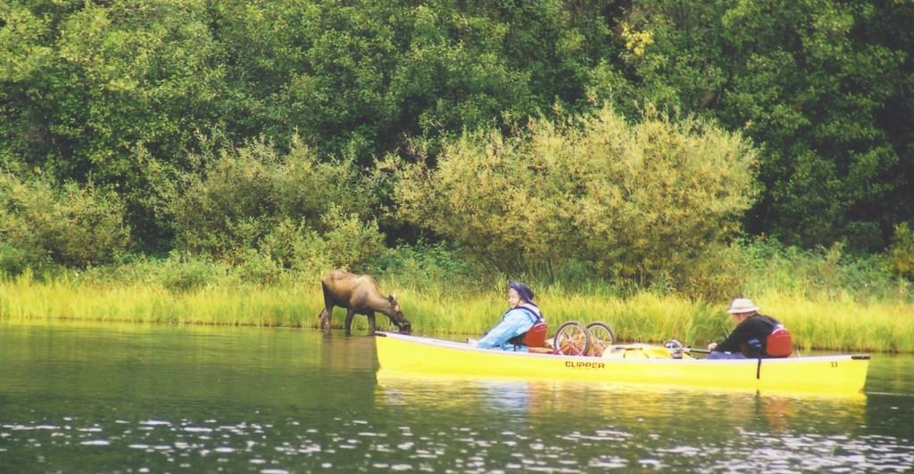 bowron lakes canoeing