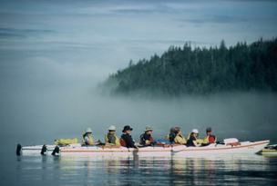 sea kayaking vancouver islands