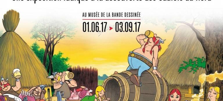 Astérix Chez Les Belges : une exposition au Centre Belge de la Bande Dessinée, à Bruxelles, jusqu'au 3 septembre 2017