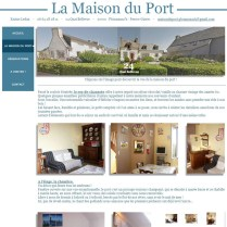 maison du port site cree par bd communication quimper