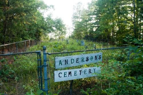Anderson's Cemetery, Subligna, Chattooga County, Georgia