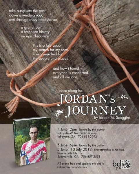 Jordan's Journey exhibition poster