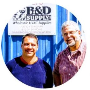 B&D Supply owner's Paul Bouten and Todd Dube
