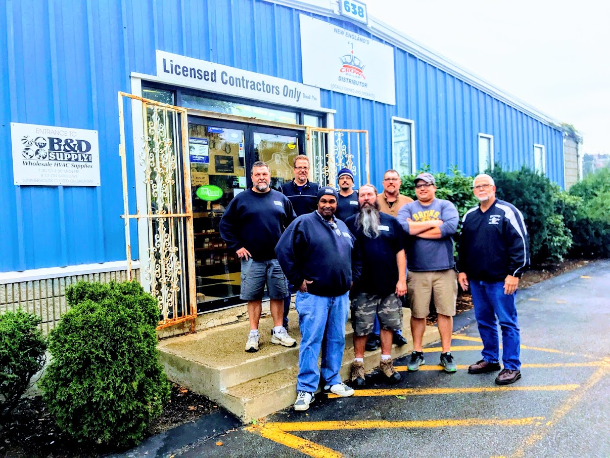 B&D Supply Worcester employees