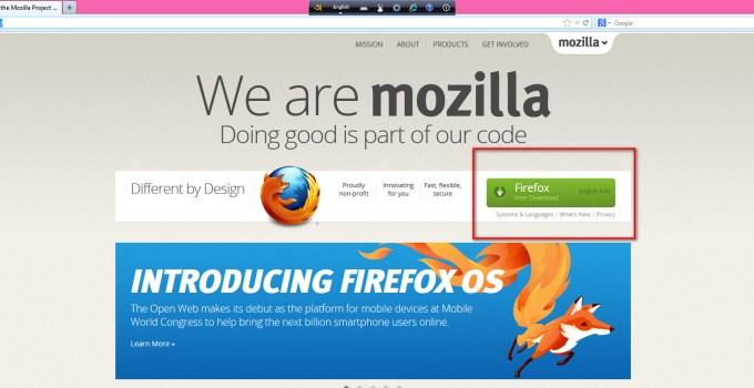 Firefox ব্রাউজার সংক্রান্ত কিছু কৌশল 5
