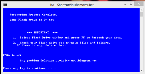 Shortcut- Virus- Remover