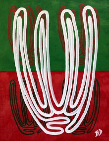 WHITE-ORGAN-PIPE-RED-GREEN_16X20_ACRYLIC_774x1000