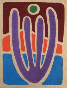 PURPLE-ORGAN-PIPE_18X24_ACRYLIC-ON-BURLAP_1000PX
