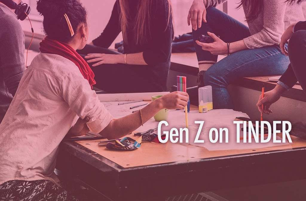 Tinder上的Z世代