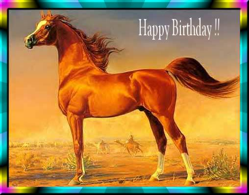 Happy Birthday Images With Horses Free Happy Bday Pictures And Photos Bday Card Com