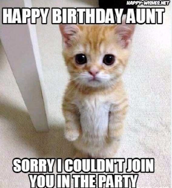 Happy Birthday Aunt memes 💐 — Free happy bday pictures and photos | BDay -card.com