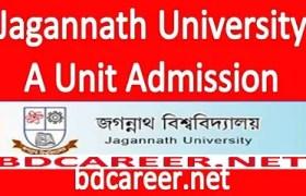 Jagannath University A Unit Admission