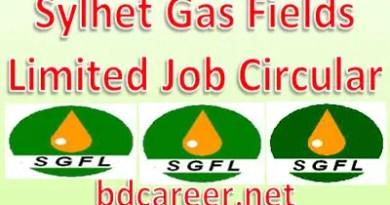 Sylhet Gas Fields Job Circular