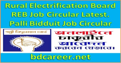 Rural Electrification Board REB Job Circular